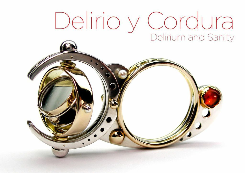 Delirio y Cordura (Delirium and Sanity): Chilean Contemporary Jewelry, Velvet da Vinci