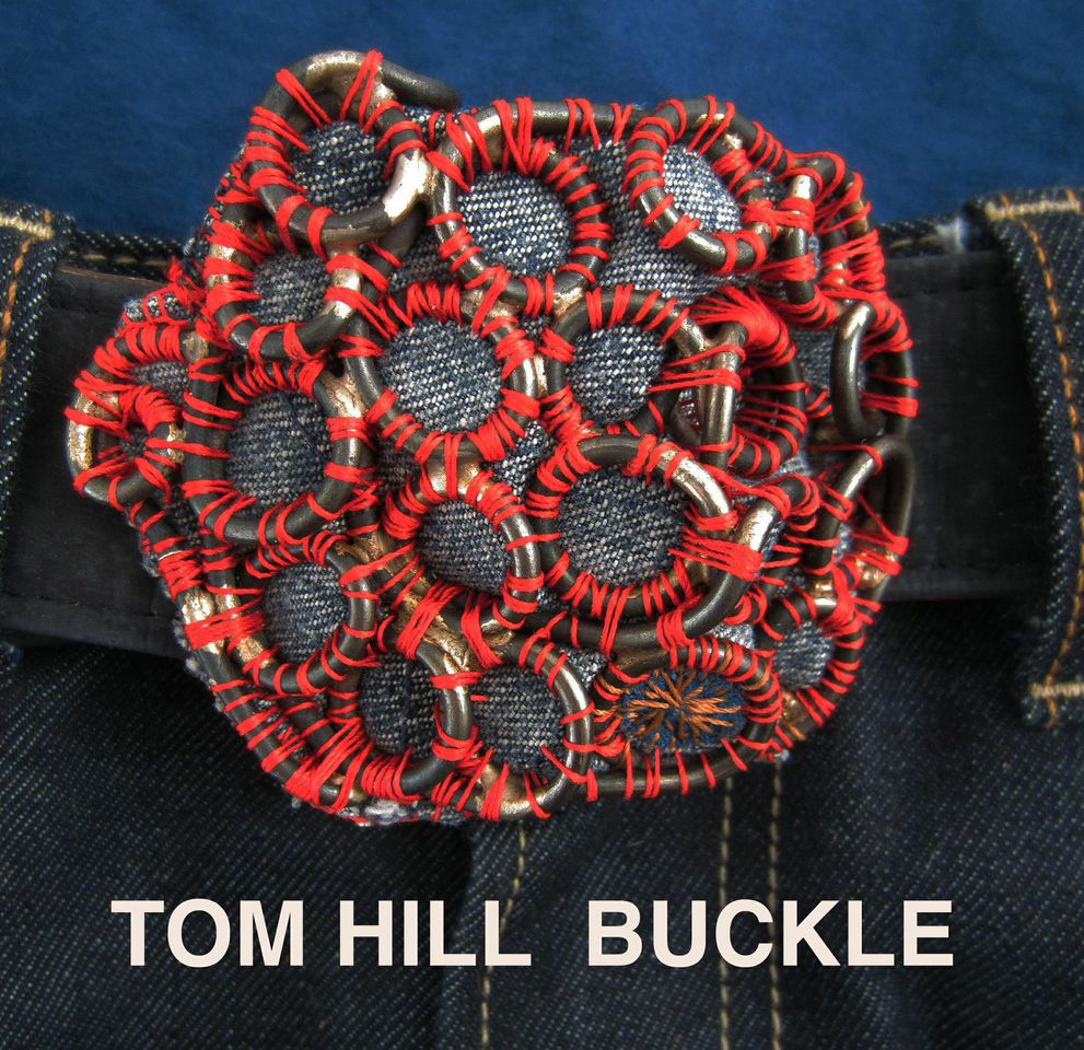 Tom Hill Buckle Velvet da Vinci