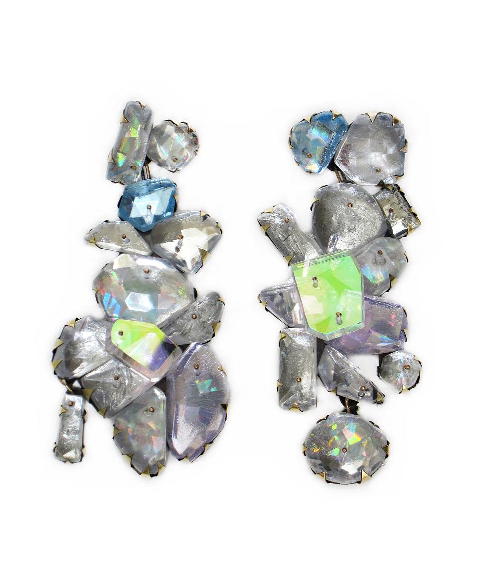 crystal Earring, Nikki Couppee, Velvet da Vinci