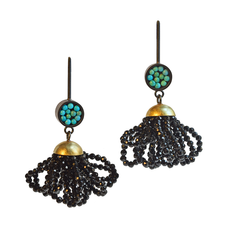 BolineStrandSeed Pod Earrings